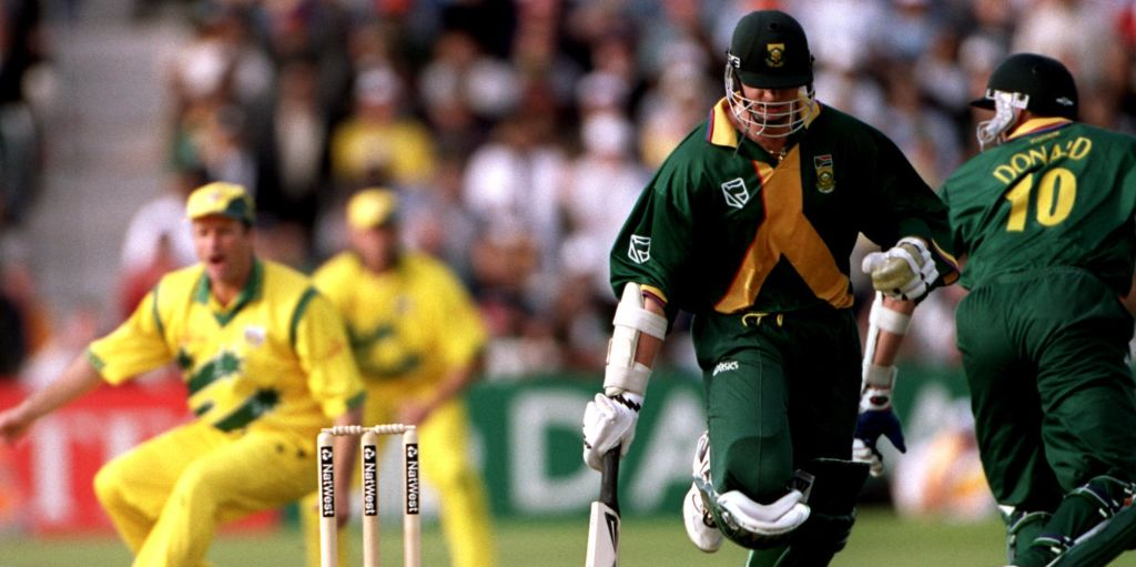 Allan Donald run out Australia South Africa 1999 World Cup semi-final PA