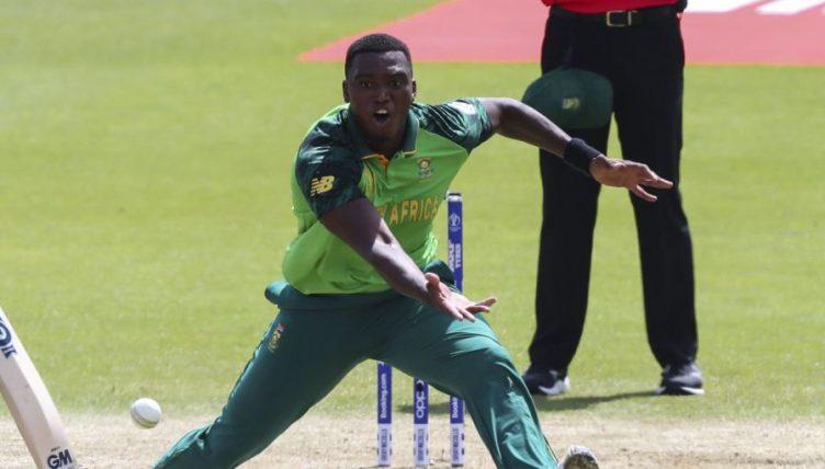 Ngidi injured South Africa PA