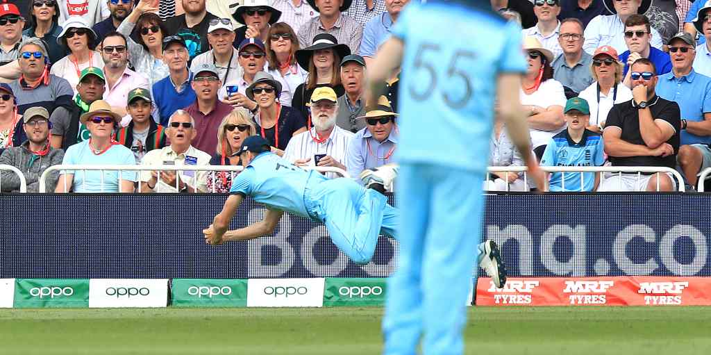Chris Woakes catch England Pakistan World Cup PA