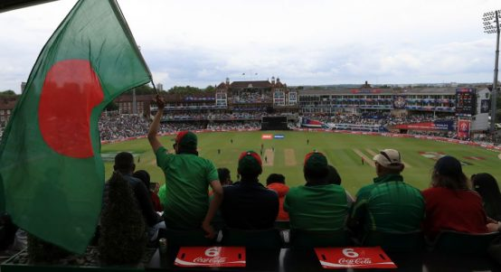 Bangladesh fans New Zealand The Oval World Cup PA