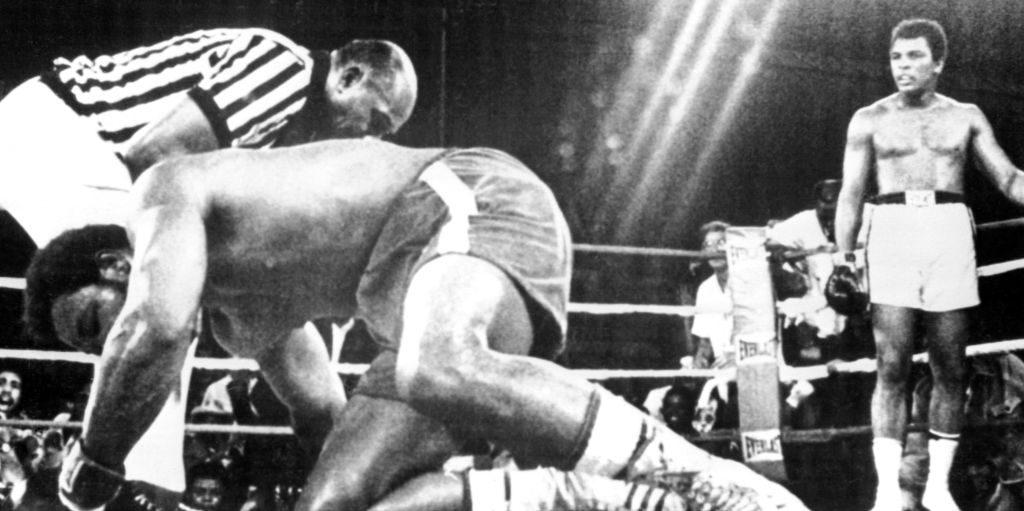 Muhammad Ali George Foreman PA