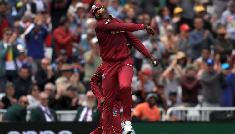 Sheldon Cottrell West Indies Australia World Cup PA