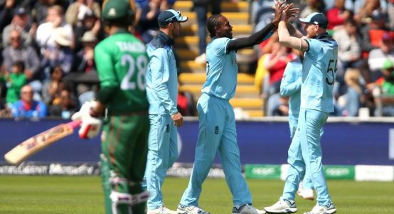Jofra Archer England Bangladesh World Cup PA