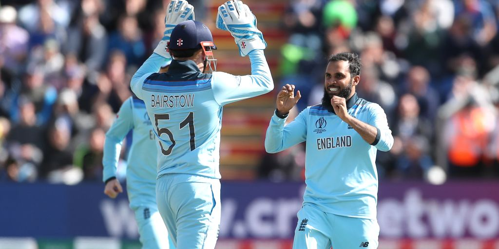 Jonny Bairstow Adil Rashid England Bangladesh World Cup PA