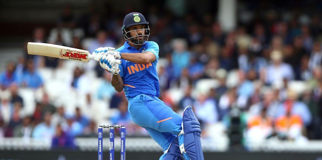 Shikhar Dhawan India Australia World Cup PA