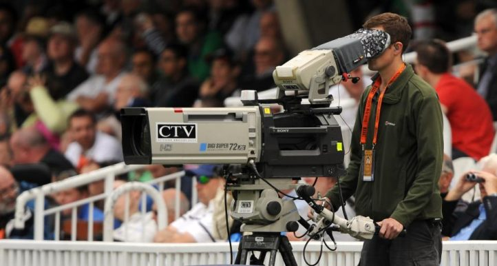 Television TV camera cricket generic