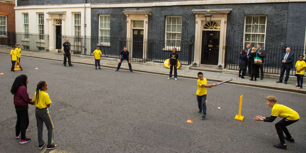 Cricket in Downing Street government PA
