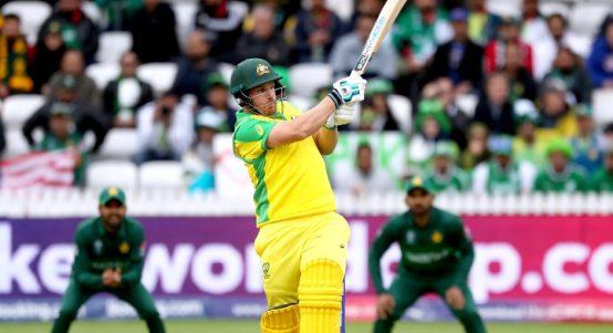 Aaron Finch Australia Pakistan World Cup PA