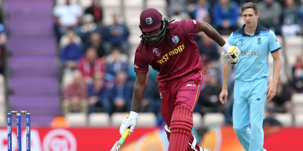Chris Gayle England West Indies World Cup PA