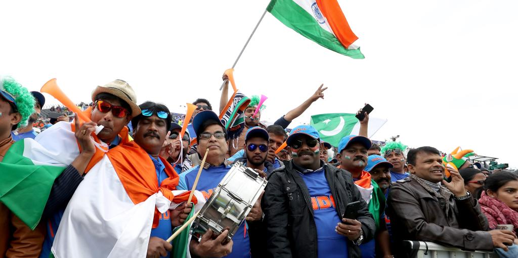 India Pakistan fans World Cup PA