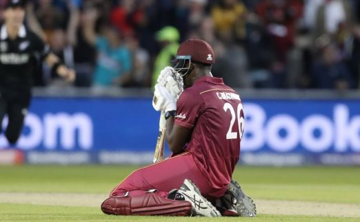 Carlos Brathwaite New Zealand West Indies World Cup PA