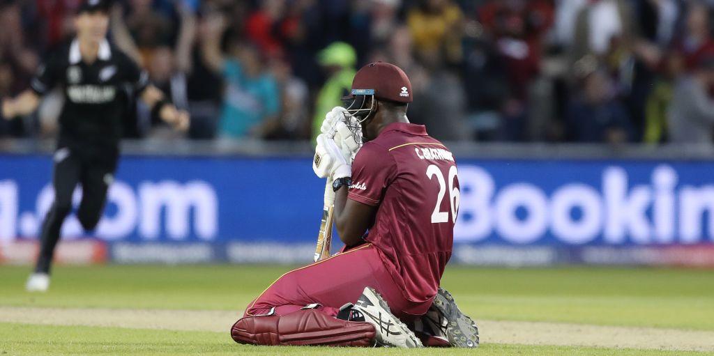 Carlos Brathwaite New Zealand West Indies World Cup PA