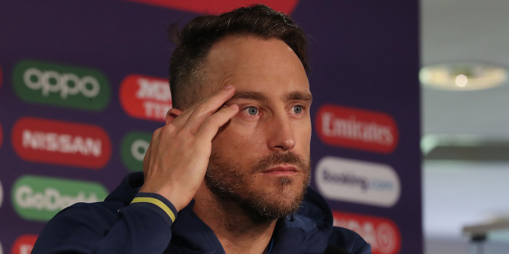 Du Plessis opens up on South Africa's 'embarrassing' exit