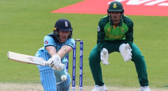 Eoin Morgan England Quinton de Kock South Africa