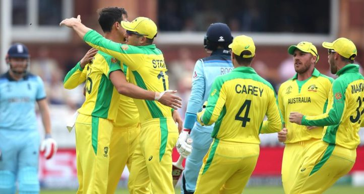 Mitchell Starc Joe Root England Australia World Cup PA