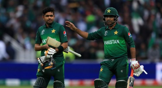 Babar Azam Pakistan New Zealand World Cup PA