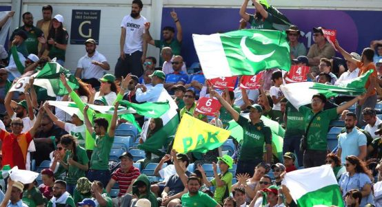 Pakistan fans Afghanistan World Cup PA