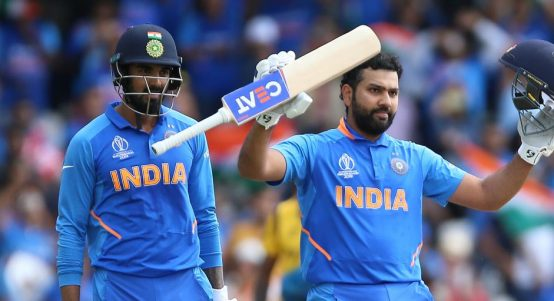 KL Rahul Rohit Sharma India Sri Lanka World Cup PA