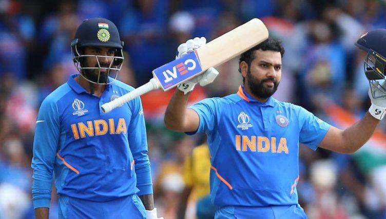 KL Rahul Rohit Sharma India Sri Lanka World Cup PA