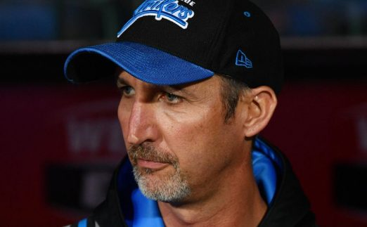 Jason Gillespie Adelaide Strikers PA