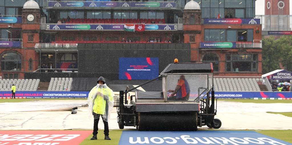 India New Zealand Old Trafford Rain World Cup PA