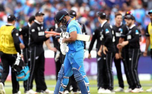 Rishabh Pant India New Zealand World Cup PA