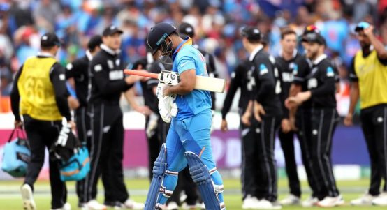 Rishabh Pant India New Zealand World Cup PA
