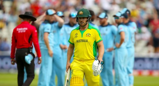 Aaron Finch England Australia World Cup PA