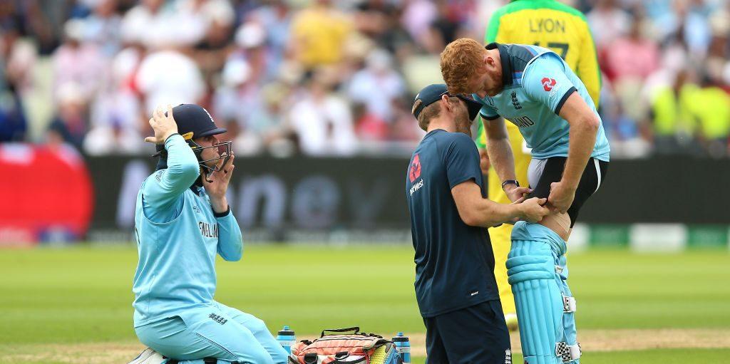 Jonny Bairstow injury England Australia World Cup semi final PA