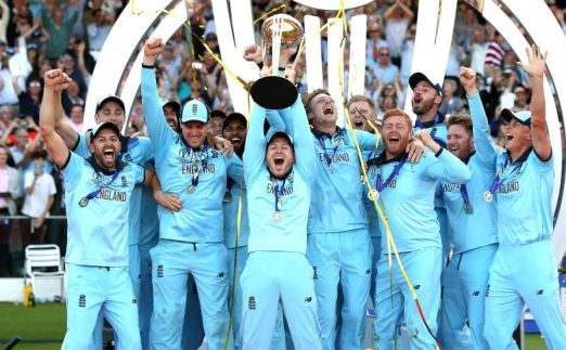 England win Cricket World Cup PA