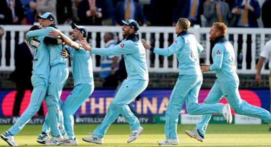 England final ball celebrations World Cup final Super Over PA
