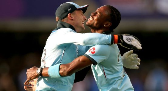 Jos Buttler Jofra Archer England Cricket World Cup