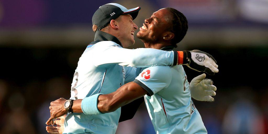 Jos Buttler Jofra Archer England Cricket World Cup
