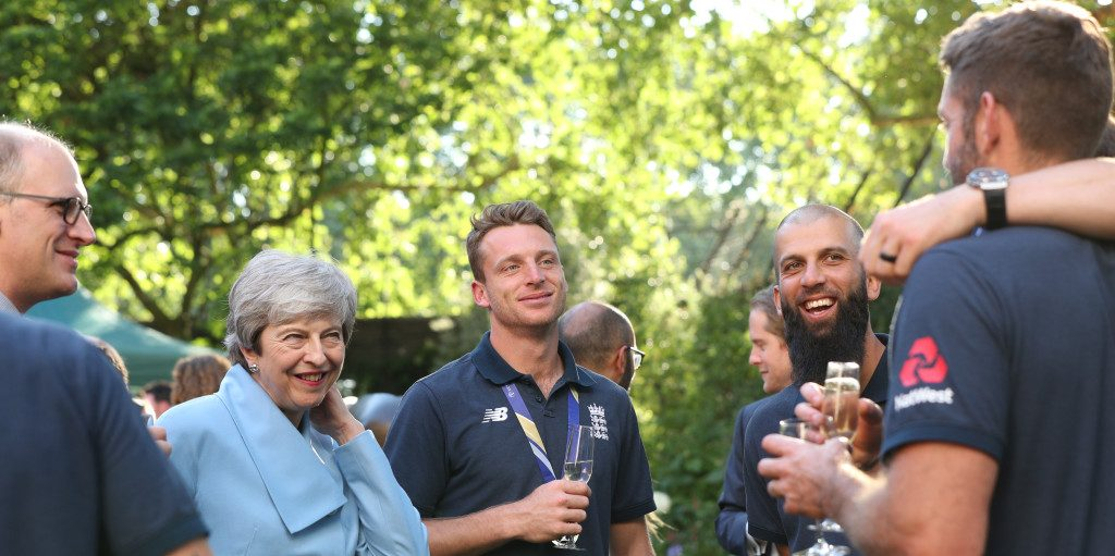 Theresa May Cricket 2 PA