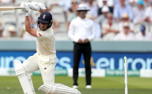 Jack Leach England Ireland Lord's day two