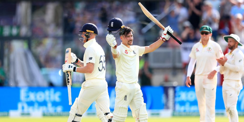 Rory Burns 2019 Ashes PA