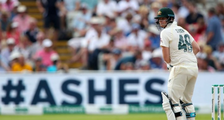 Steve Smith England Australia Edgbaston Ashes PA