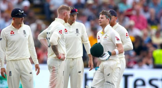Ben Stokes Steve Smith Edgbaston England Australia Ashes PA