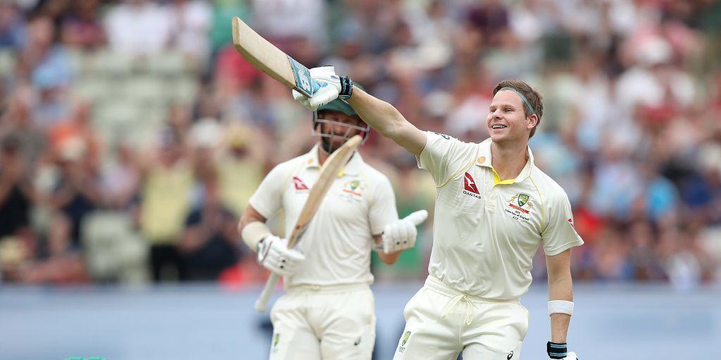 Steve Smith 100 Edgbaston England Australia Ashes PA