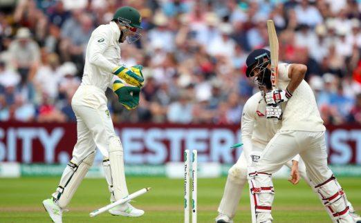 Ridiculous Ashes Moeen Ali bowled Edgbaston PA