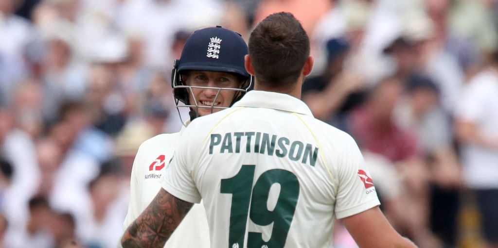 Joe Root James Pattinson Ashes Edgbaston England Australia PA