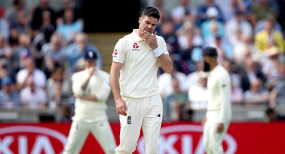James Anderson England Australia Edgbaston Ashes PA
