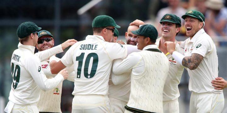 Australia celebrate ICC World Test Championship Ashes PA