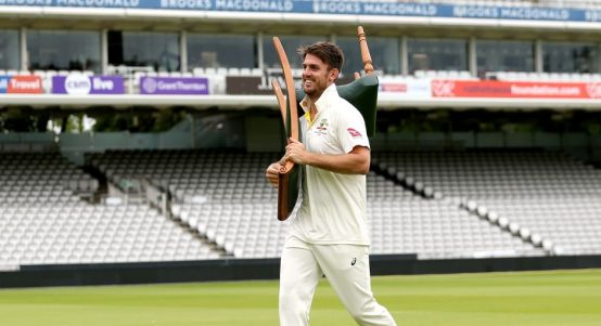 Mitchell Marsh bits and pieces cricketer PA