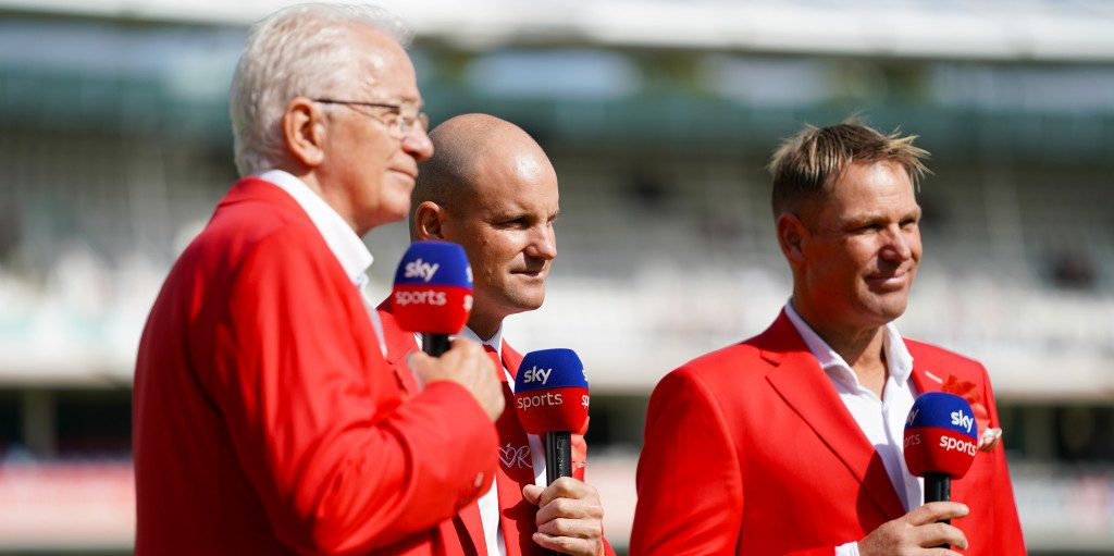 Strauss Warne Gower Ashes Red Lord's PA