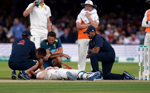 Cricket Steve.Smith_.Concussion.Ashes_.PA_