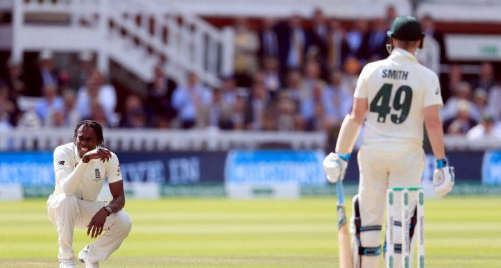 Jofra Archer Steve Smith Lord's Ashes England Australia PA
