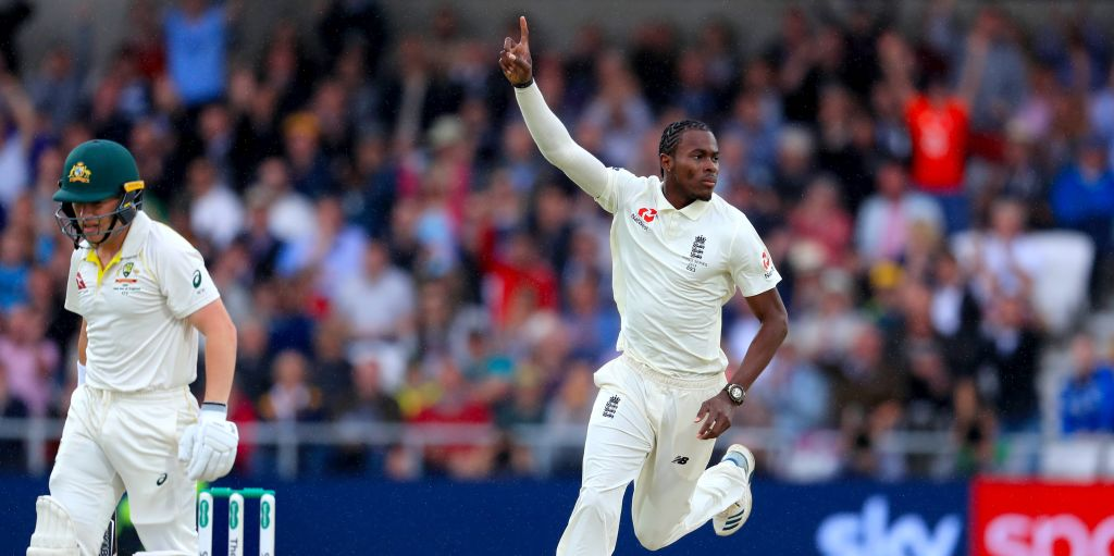 Jofra Archer Marcus Harris out England Australia Ashes PA