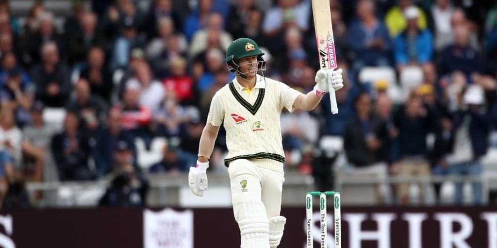David Warner 50 England Australia Ashes PA