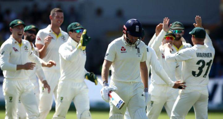 Jonny Bairstow out England collapse Australia Headingley Ashes PA